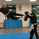 Calcio in Volo Kung Fu