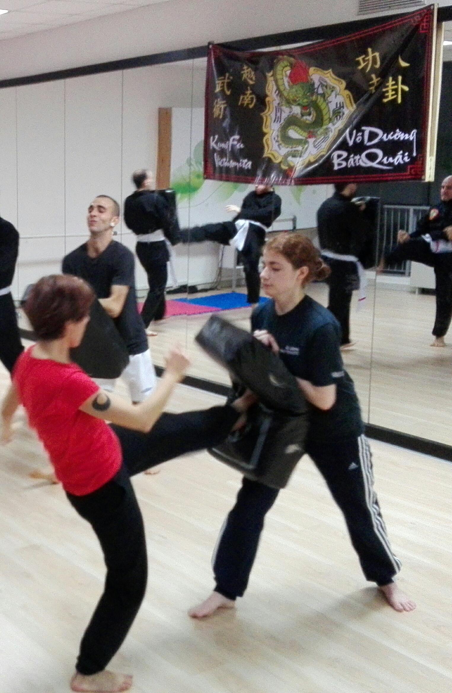 Esercizi di Kung Fu ai colpitori