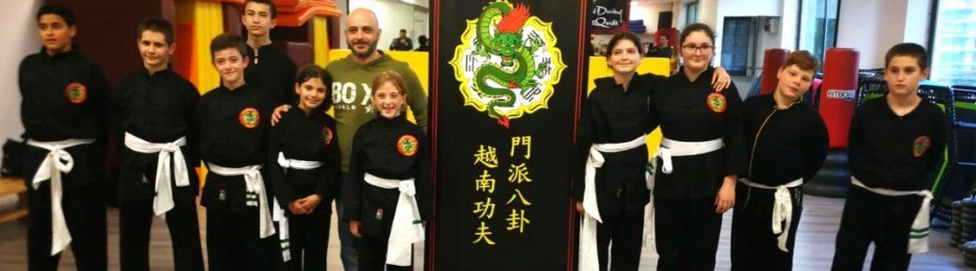 esami Kung fu bambin gruppo 2019